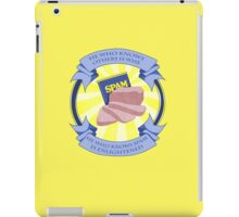 The Spam of Enlightenment iPad Case/Skin