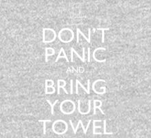 Don't panic and bring your towel Kids Clothes
