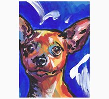 Miniature Pinscher Dog Bright colorful pop dog art Unisex T-Shirt