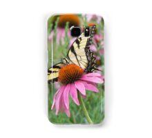 Tiger Swallowtail on Purple Coneflower Samsung Galaxy Case/Skin
