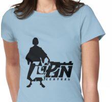 Samurai Simple Womens Fitted T-Shirt