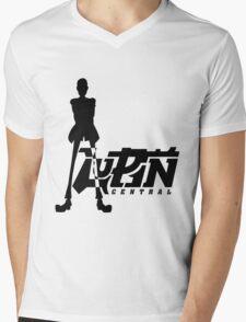 Thief Simple Mens V-Neck T-Shirt