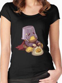 Halloween Zenyatta spray (updated)  Women's Fitted Scoop T-Shirt