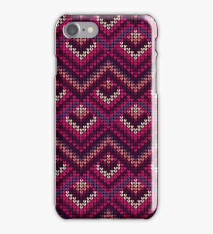 Yarn pattern iPhone Case/Skin