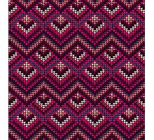 Yarn pattern Photographic Print
