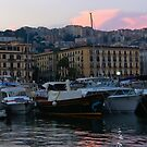 .. the beautiful little harbour of Mergellina (Naples, Italy) ~ 1a by Rachel Veser