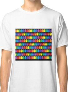 Mini Ghost Army! - Rainbow Classic T-Shirt