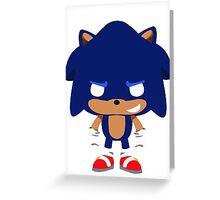 Sonic Pop Greeting Card