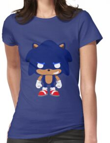 Sonic Pop Womens Fitted T-Shirt