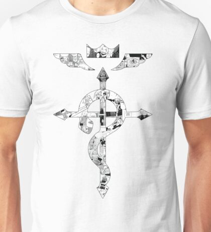 The Elric Brothers Manga Flamel Unisex T-Shirt