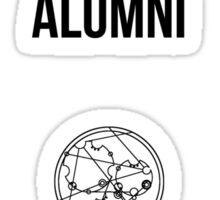 NORTHERN GALLIFREY UNIVERSITY ALUMNI Sticker