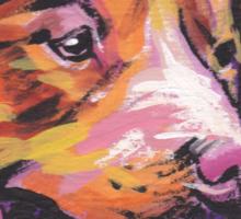Nova Scotia Duck Tolling Retriever Dog Bright colorful pop dog art Sticker