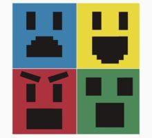 Emoji Collage Baby Tee