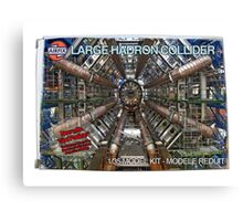 Large hadron collider model kit Canvas Print