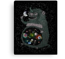 SPACE JUNKIE Canvas Print