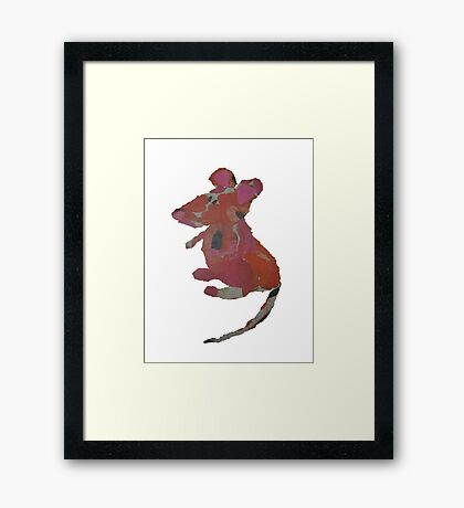 Milly Mouse Framed Print