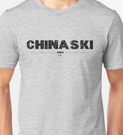 HENRY CHINASKI Unisex T-Shirt