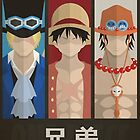 One Piece - ASL, Ace, Sabo and Luffy, Brothers by Nomad56641