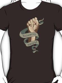 Solidarity Sistahs T-Shirt