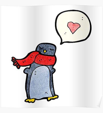 cartoon penguin Poster