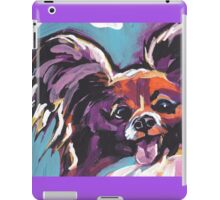 Papillon Dog Bright colorful pop dog art iPad Case/Skin