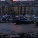 .. the beautiful little harbour of Mergellina (Naples, Italy) ~ 2a by Rachel Veser