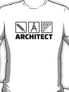 Architect tools compass T-Shirt