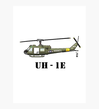 Helicopter UH-1E Photographic Print