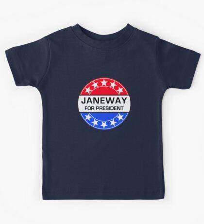 JANEWAY FOR PRESIDENT Kids Tee