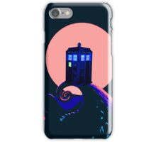 tardis with her beauty iPhone Case/Skin