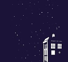 Tardis starry night by Mac002