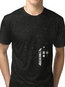 Tardis starry night Tri-blend T-Shirt