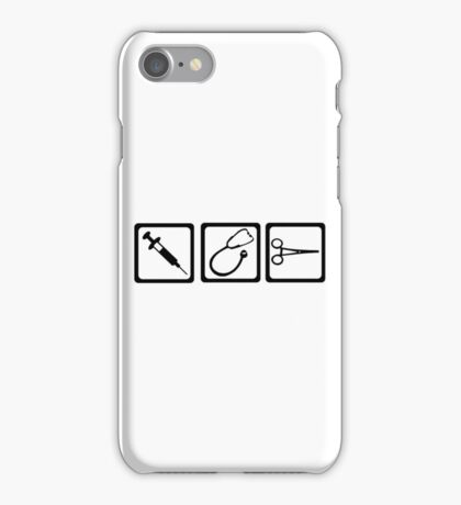 Doctor equipment iPhone Case/Skin