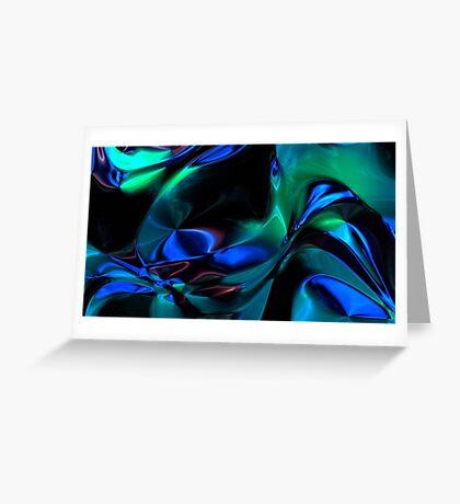 Spacetime Flow III Greeting Card