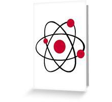 Atom symbol Greeting Card
