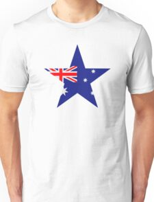 Australia flag star Unisex T-Shirt