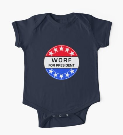 WORF FOR PRESIDENT One Piece - Short Sleeve
