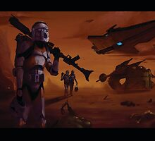 Geonosis at war by MandalorianShop