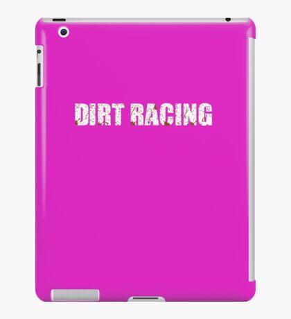 Dirt Racing Chick Cute Funny  iPad Case/Skin