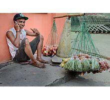 Supermarket Veggies Photographic Print