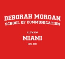 Deborah Morgan School of Communication Alum [SFW] - Dark Only T-Shirt