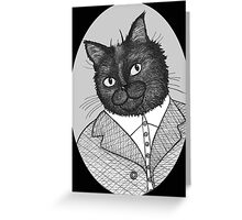 Maurice The Cat Greeting Card