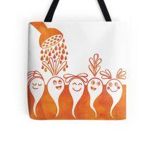 Happy Baby Vegetables Tote Bag