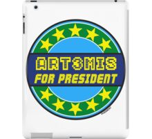 ART3MIS FOR PRESIDENT iPad Case/Skin