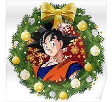 Goku Christmas Poster