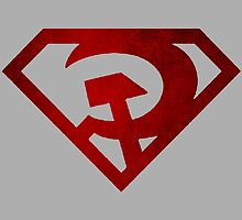 Superman hammer and sickle by Mac002