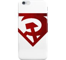 Superman hammer and sickle iPhone Case/Skin
