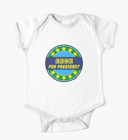 AECH FOR PRESIDENT One Piece - Short Sleeve