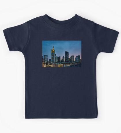 Frankfurt Skyscrapers Kids Tee