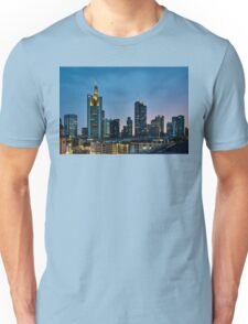 Frankfurt Skyscrapers Unisex T-Shirt